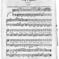 "Sheet Music for ""A Frog He Would A Wooing Go"""