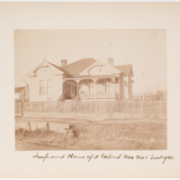 Improved house of a colored man near Tuskegee