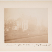 Residence of Booker T. Washington, principal