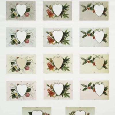 Valentine's, Christmas and New Year's Cards